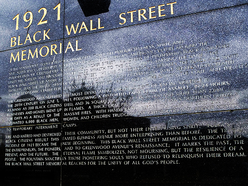tulsa mascre The tulsa massacre of 1921 adds the greenwood area of tulsa where the church is located known as black wall street to the nation's official list of properties significant in its past.