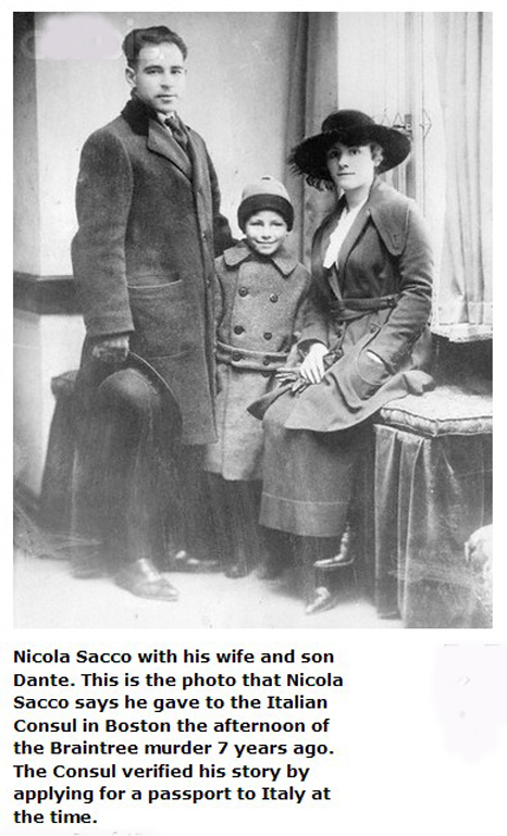 a biography of nicola sacco Sacco and vanzetti case the sacco and vanzetti case is widely regarded as a miscarriage of justice in american legal history nicola sacco and bartolomeo vanzetti, italian immigrants and anarchists, were executed for murder by the state of massachusetts in 1927 on the basis of doubtful ballistics evidence.