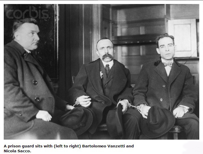 an analysis of the sacco and vanzetti court case persons involved in the slater and morrill shoe com