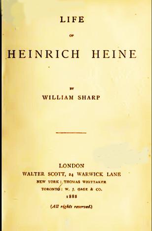 Heinrich Heine - A Short Biography