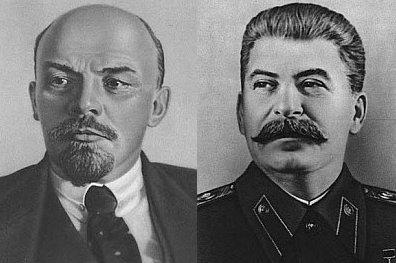 Resultado de imagen para Fotos de Lenin y Stalin