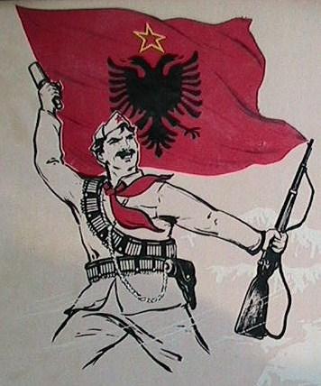 Bildergebnis für albanische partisanen