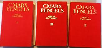 Obras escogidas de Marx y Engels (en 3 volúmenes) y de Lenin (en 3 y en 12 volúmenes) - Editorial Progreso - años 1961 - 1973 y 1980 Marx_engels_obras_escogidas_spanish