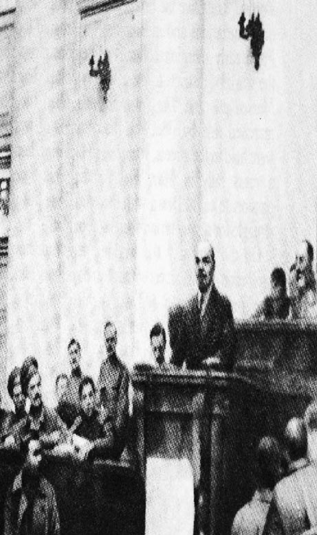 april thesis lenin This month marks 90 years since lenin returned to russia from exile he immediately embarked on the task of convincing not only the mass of workers, but also the bolshevik leadership, that the tasks of the revolution were socialist, that what was needed was for power to pass to the hands of the soviets.