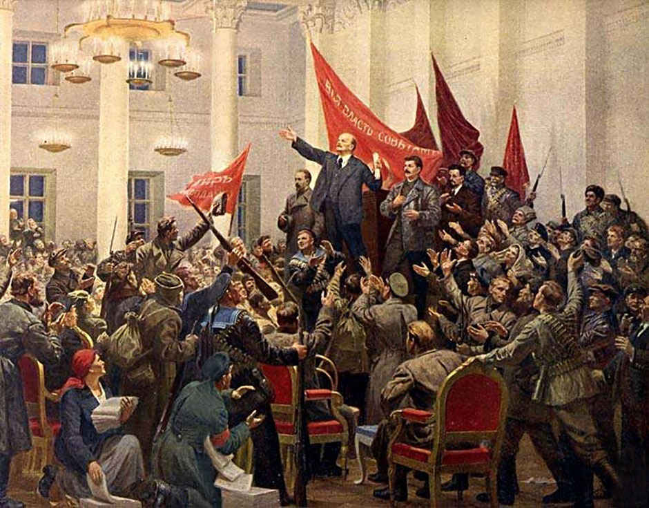 a history of chinese communist revolution and russian revolution