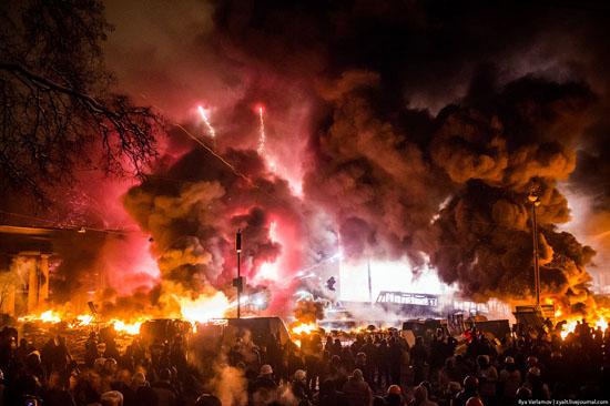 Revolu  231   227 o Ucraniana avan  231 a at  233    225  vit  243 ria do socialismo Ukraine Protest 2014