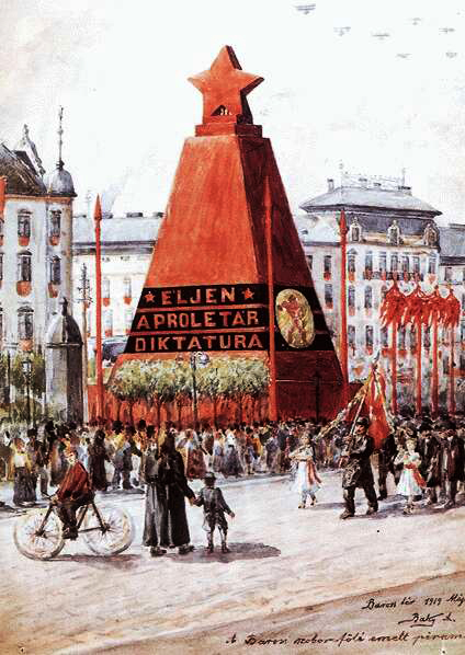 Hungarian revolution in 1919 ile ilgili görsel sonucu