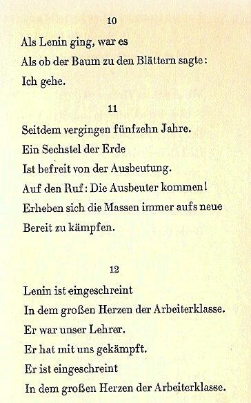 Kurze Gedichte Bertolt Brecht Mayahasydike News