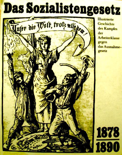 Sozialistengesetz Bismarck
